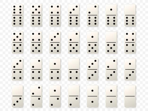 Dominó ou peças de dominó