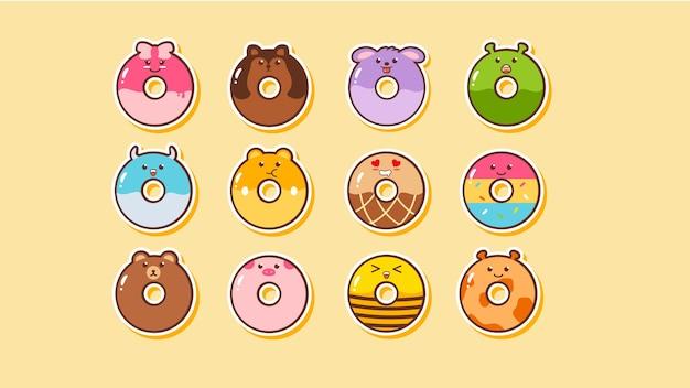 Donut kawaii