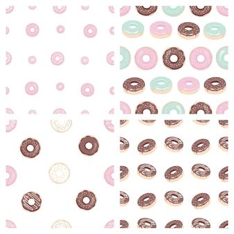 Donut padrão sem emenda