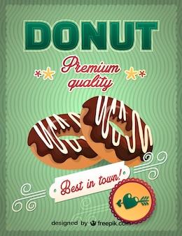 Donuts de chocolate gráfico livre