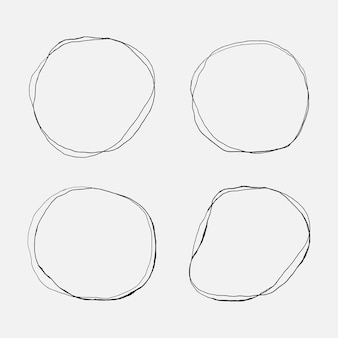 Doodle círculo definido