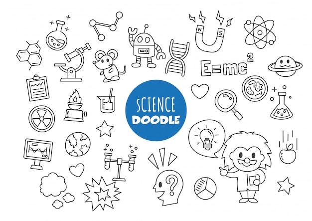 Doodle de ciência