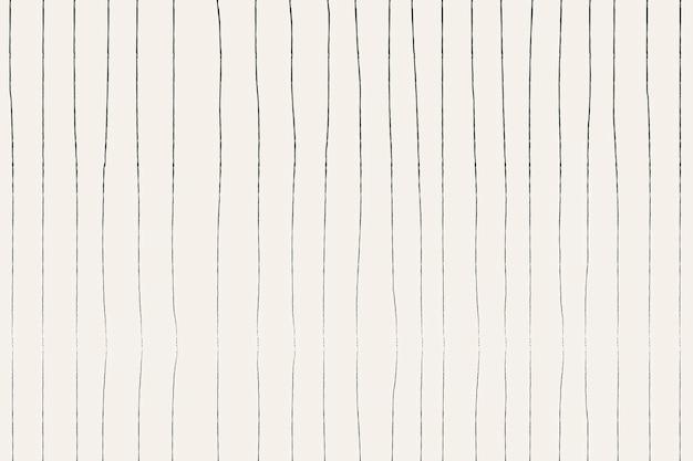 Doodle de fundo, vetor de design de padrão listrado