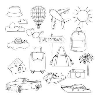 Doodle de transporte
