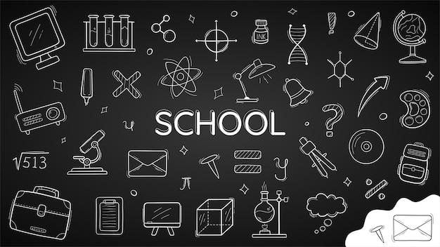 Doodle de volta para a escola