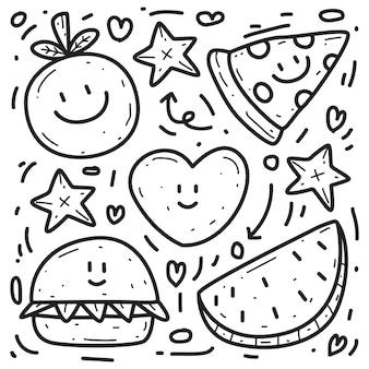 Doodle desenhado à mão