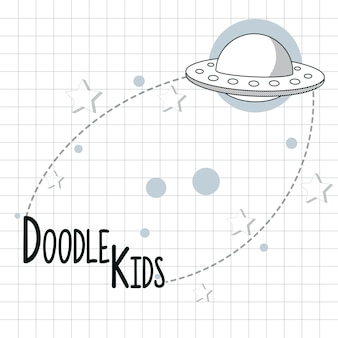 Doodle desenhos de crianças