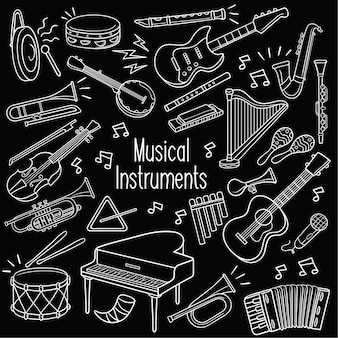 Doodle instrumentos musicais