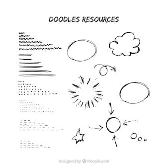 Doodles círculo