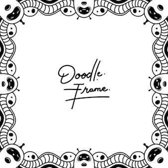Doodles frame line art