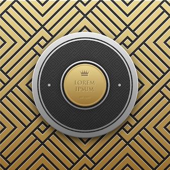 Dourado, padrão, fundo