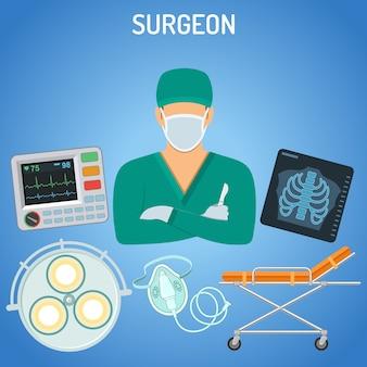 Doutor, cirurgião, conceito