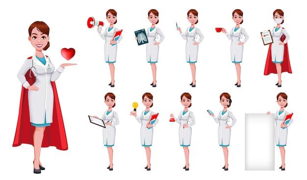 Doutora linda jovem