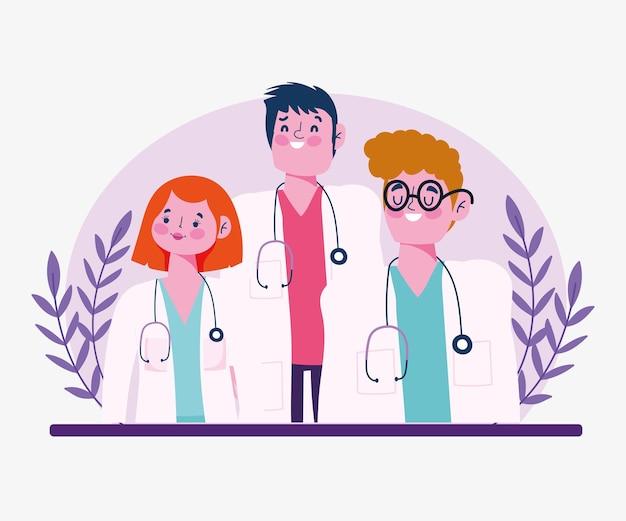 Doutores masculinos femininos