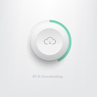 Download botão web