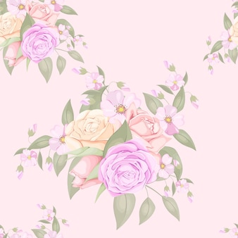 Download floral seamless pattern design de moda