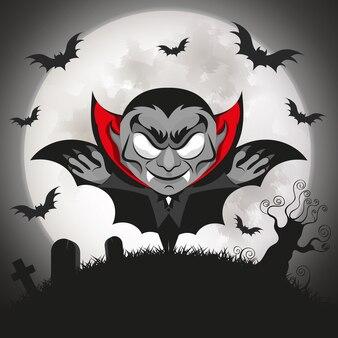 Dracula vampire halloween