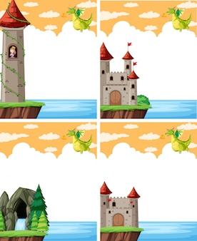 Dragão e o castelo