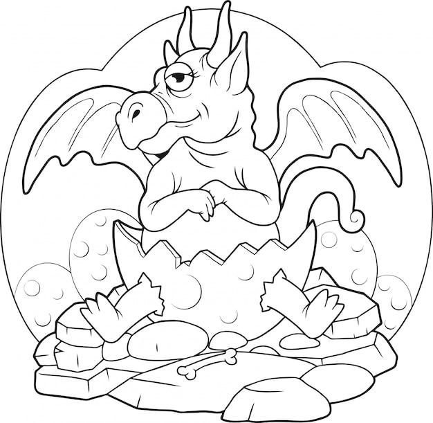Dragão recém-nascido