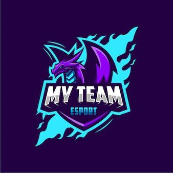 Dragon e-sport logotipo