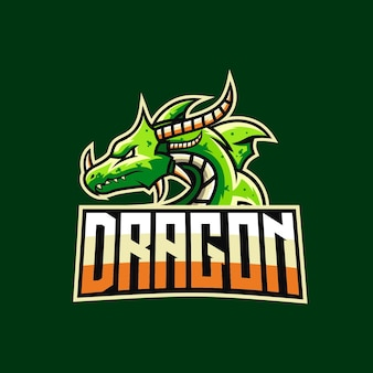 Dragon e-sport logotipo