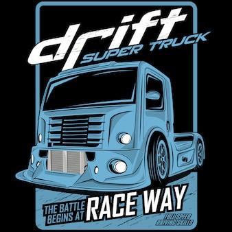 Drift super truck