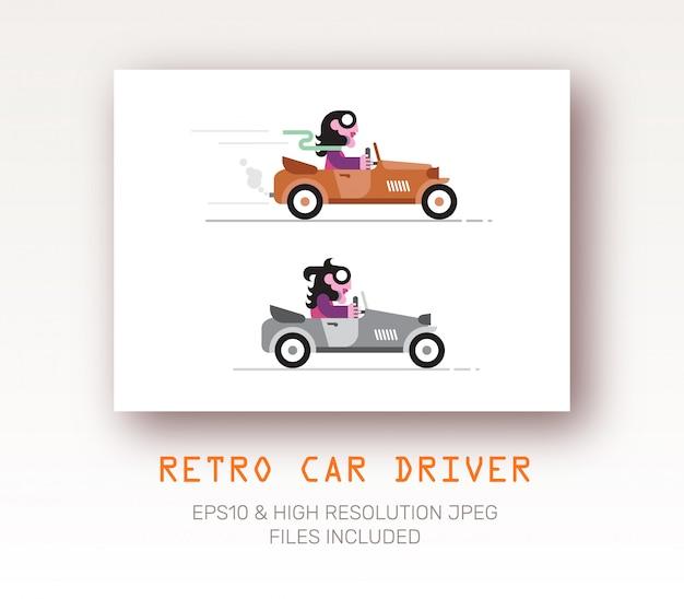 Driver de estilo retro