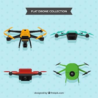 Drones profissionais com câmeras
