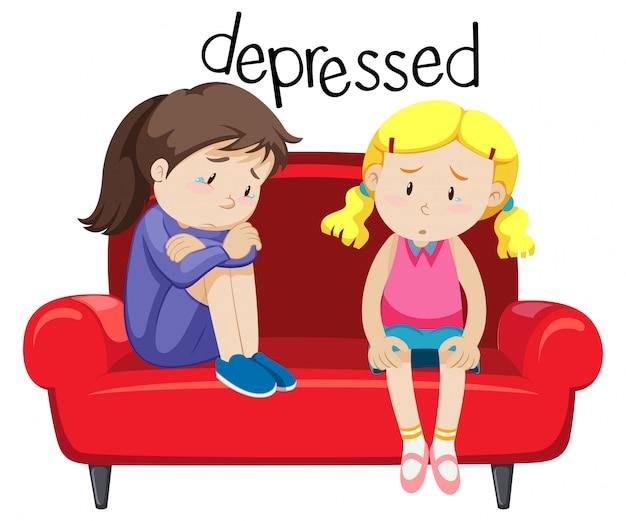 Duas garotas é deprimente