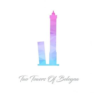 Duas torres de bolonha polygon