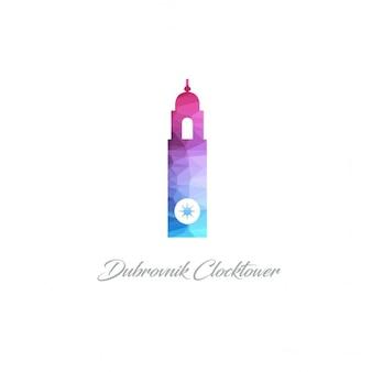 Dubrovnik torre do relógio