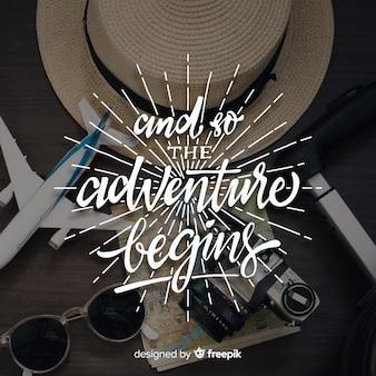E assim a aventura começa