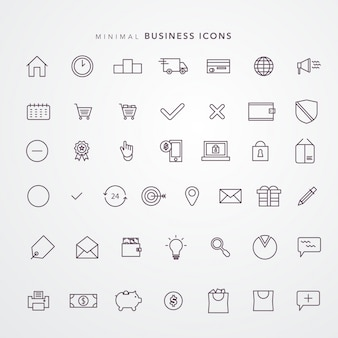 E commerce icon set