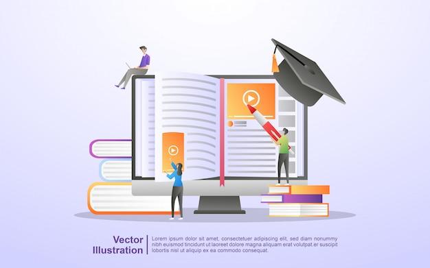 E curso online e de aprendizagem