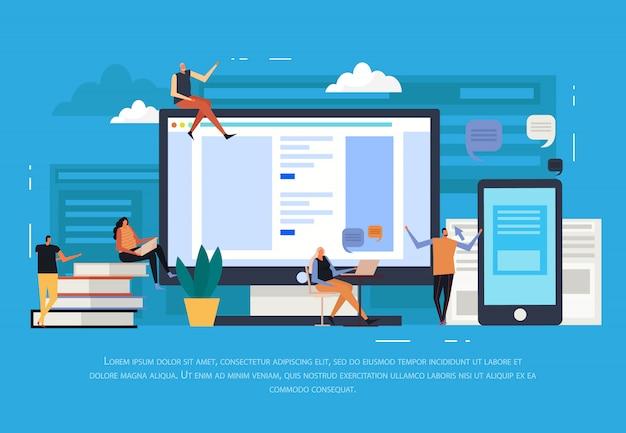 E-learning plano