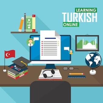 E-learning turco.