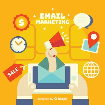 E-mail plano de marketing