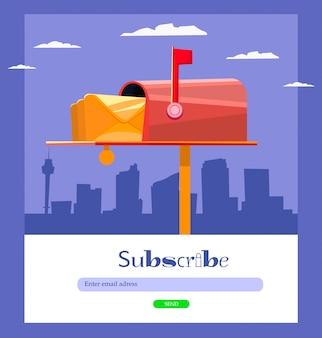 E-mail se inscreve