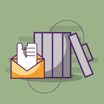 E-mail spam mensagem comunicação lixo lata