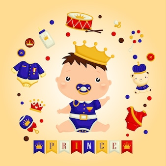 É o bebê príncipe