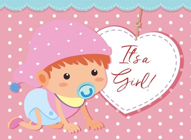 É uma menina