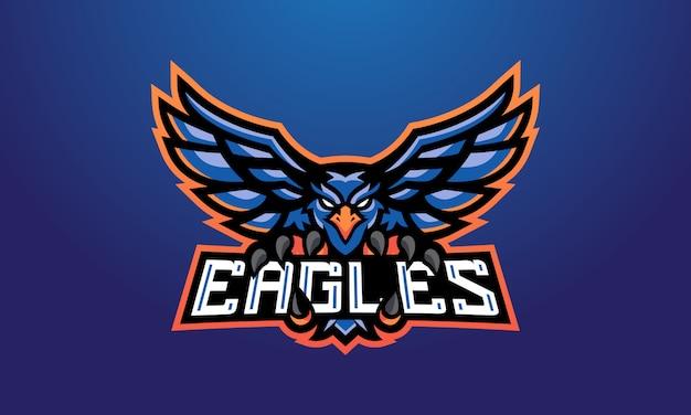 Eagles blue esports mascote