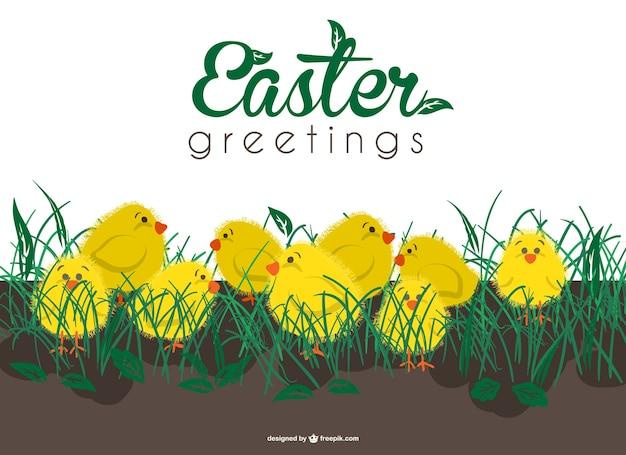 Easter cartão de cumprimentos