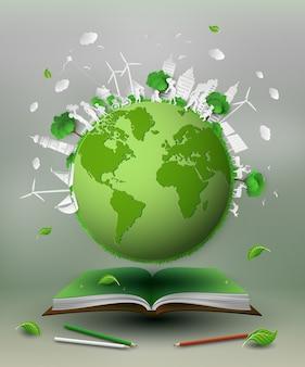Eco friendly conceito