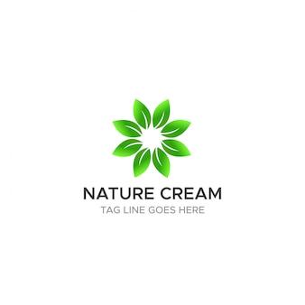 Ecologia de negócios natureza folha logotipo conceito