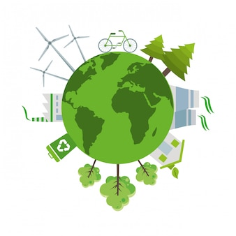 Ecologia e mundo verde