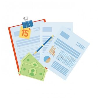 Economizando dinheiro dos desenhos animados