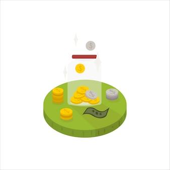 Economizando dinheiro