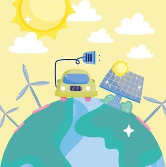 Economizando energia verde