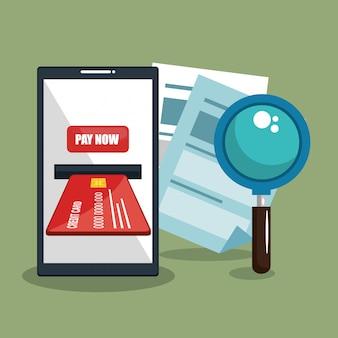 Economizar dinheiro on line com smartphone